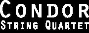 Condor String Quartet logo white