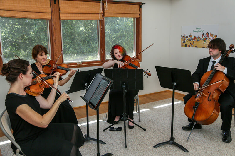 Condor String Quartet weddings